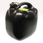 Benzinekan 10L 580gr zwart UN/BAM Carpoint 0110026