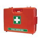 Ehbo-koffer, oranje met wandhouder, dubbelvaks Carpoint 0117114
