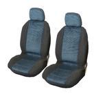 Carpoint Stoelhoesset voor 4-dlg 'Denver' blauw 10302