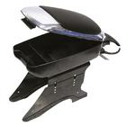Armsteun chroom/zwart Carpoint 0325008