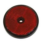 Reflector rond 70mm rood bulk Carpoint 0413956