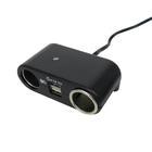 Carpoint 2-weg aanstekerdoos + USB 23440