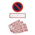 Sticker 'Verboden parkeren' Carpoint 1316001