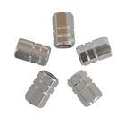 Carpoint Ventieldopjes 5st zuiger zilver 16009