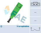 Koppelingbedieningsschakelaar (motor) Fae 24774