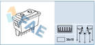 Raambedieningsschakelaar Fae 62590