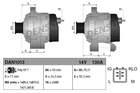 Alternator/Dynamo Denso dan1013