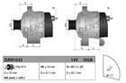 Alternator/Dynamo Denso dan1033