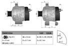 Alternator/Dynamo Denso dan1034