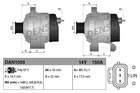 Alternator/Dynamo Denso dan1059