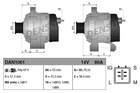 Alternator/Dynamo Denso dan1061