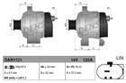 Alternator/Dynamo Denso dan1121
