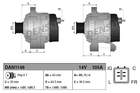 Alternator/Dynamo Denso dan1148