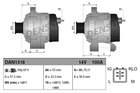 Alternator/Dynamo Denso dan1318