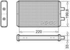 Denso Kachelradiateur DRR12016