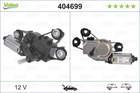 Ruitenwissermotor Valeo 404699