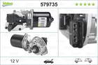 Ruitenwissermotor Valeo 579735