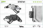 Valeo Ruitenwissermotor 579741