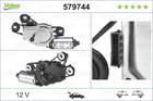 Ruitenwissermotor Valeo 579744