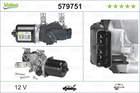 Ruitenwissermotor Valeo 579751
