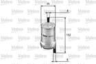 Brandstoffilter Valeo 587021