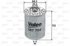 Brandstoffilter Valeo 587704