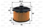 Brandstoffilter Valeo 587905