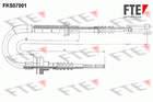 Koppelingskabel Fte fks07001