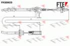 Koppelingskabel Fte fks09020