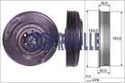 Krukaspoelie /-torsiedemper Ruville 515400