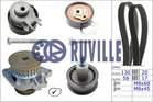 Ruville Distributieriem kit incl.waterpomp 55456721