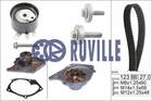 Ruville Distributieriem kit incl.waterpomp 55581701