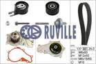 Ruville Distributieriem kit incl.waterpomp 55953721