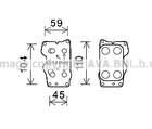 Oliekoeler motorolie Ava Cooling cn3307