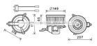 Ava Cooling Kachelventilator/Ventilatormotor CN8511