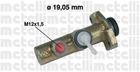 Hoofdremcilinder Metelli 050015