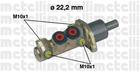 Hoofdremcilinder Metelli 050196