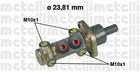 Hoofdremcilinder Metelli 050398