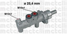Hoofdremcilinder Metelli 050414