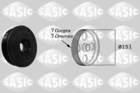 Sasic Krukaspoelie /-torsiedemper 2154018