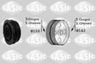 Sasic Krukaspoelie /-torsiedemper 2156038