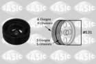 Krukaspoelie /-torsiedemper Sasic 2156042