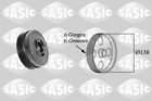 Krukaspoelie /-torsiedemper Sasic 2156082