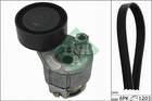 Poly V-riemen kit Ina 529000910