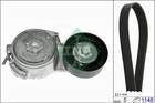 Poly V-riemen kit Ina 529001310