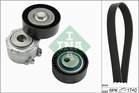 Poly V-riemen kit Ina 529001710