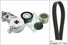 Poly V-riemen kit Ina 529002210