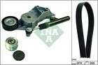 Poly V-riemen kit Ina 529009410