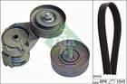 Poly V-riemen kit Ina 529010810
