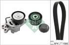 Poly V-riemen kit Ina 529010910